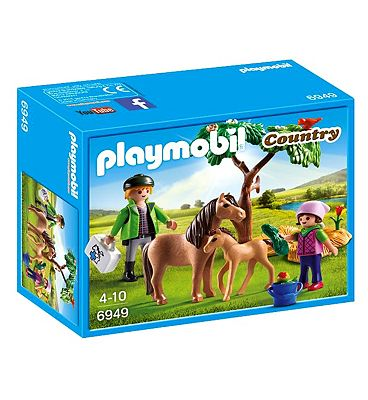 Playmobil Country Vet With Pony And Foal 6949