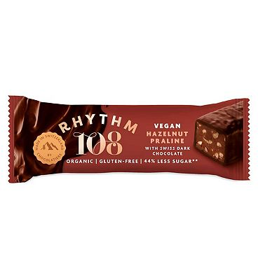 Rhythm108 Hazelnut Praline Chocolate Bar - 33g