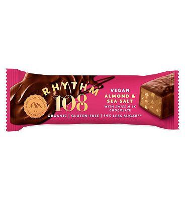 Rhythm108 Sweet'N Salty Almond Chocolate Bar - 33g