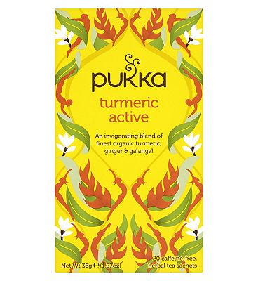 Pukka Organic Turmeric Active Herbal Tea - 20