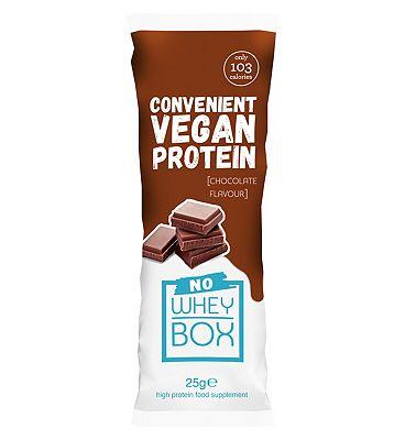 Whey Box 'No Whey' Chocolate Vegan Sachet - 25g
