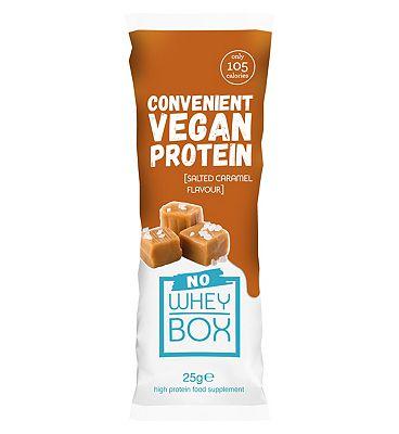 Whey Box 'No Whey' Salted Caramel Vegan Sachet - 25g
