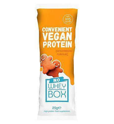 Whey Box 'No Whey' Gingerbread Vegan Sachet - 25g