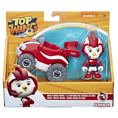 Top Wing Figure and Vehicle - Rod