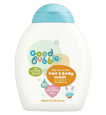 Good Bubble Bish Bash Bosh! Hair & Body Wash with Extract of Cloudberry 250ml