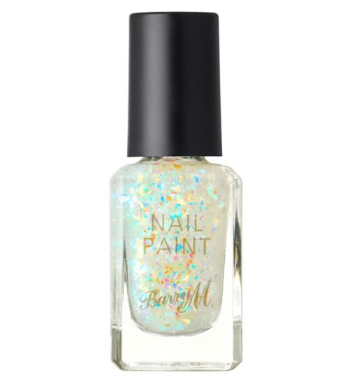 9873378124 Barry M Glitter Topcoat Nail Paint Fortune Teller