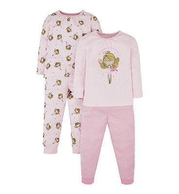 mini club 2 pack fairy pyjama