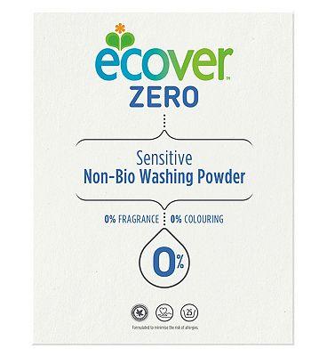 Ecover Zero Sensitive Non-Bio Washing Powder 1.875kg