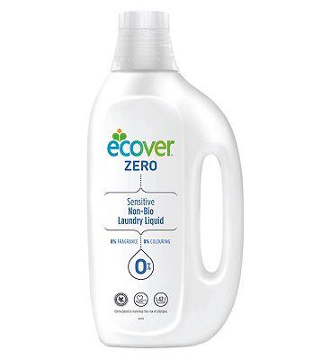 Ecover Zero Sensitive Non-Bio Laundry Liquid 1.5L