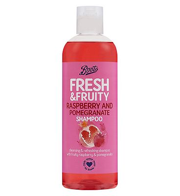 Image of Boots Fresh Raspberry & Pomegrante Shampoo 500ml