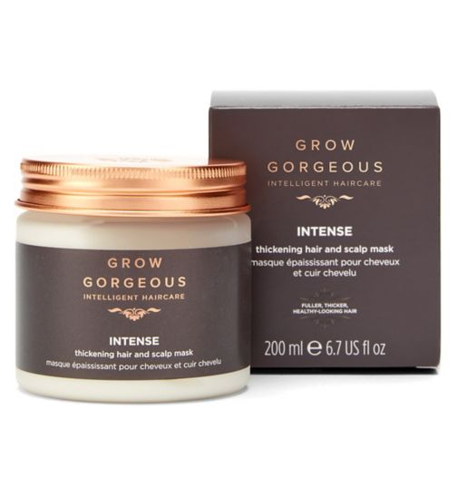 Grow Gorgeous Intense Hair and Scalp Mask 200ml