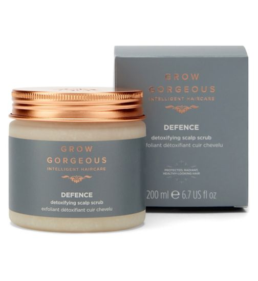 Grow Gorgeous Defence Scalp Scrub 200ml