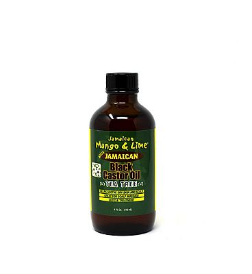 Jamaican Mango & Lime Tea Tree Black Castor Oil 118ml