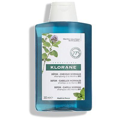 Klorane Aquatic Mint CleansingShampoo 200ml