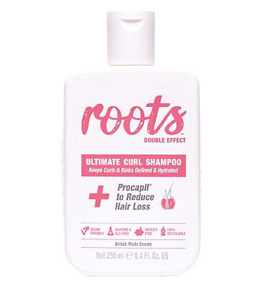Roots Double Effect Ultimate Curl Shampoo 250ml