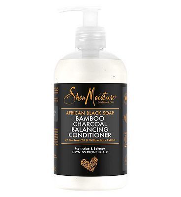 Shea Moisture African Black Soap Bamboo Charcoal Conditioner 384ml