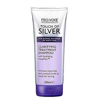 PRO:VOKE Touch Of Silver Clarifying Treatment Shampoo 200ml