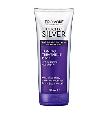 PRO:VOKE Touch Of Silver Toning Treatment Mask 200ml