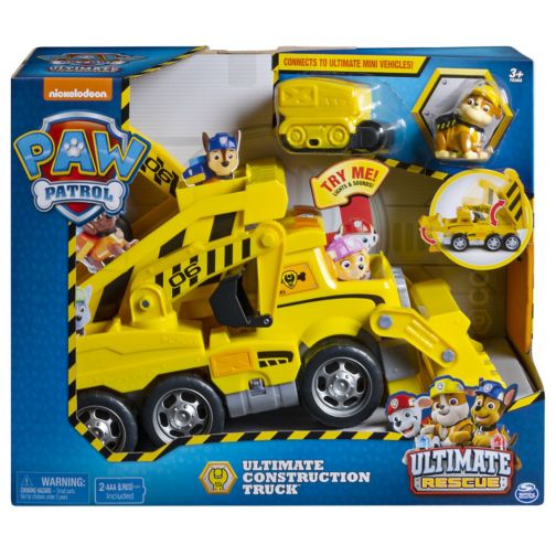 Paw Ultimate Construction Rescue Truck