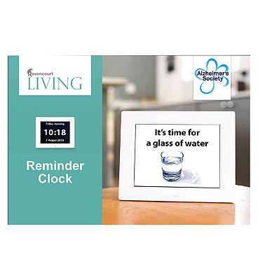 Ravencourt Living Rosebud Reminder Clock