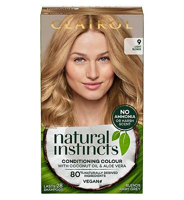 Clairol Natural Instincts Semi Permanent Hair Dye 9 Sahara 177g