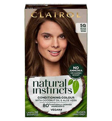 Clairol Natural Instincts Semi Permanent Hair Dye 5g Pecan 177g