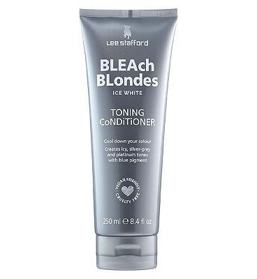Lee Stafford Bleach Blondes Ice White Conditioner 250ml