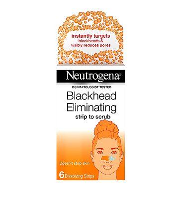 Neutrogena Blackhead Eliminating Strip To Scrub x6 Strips