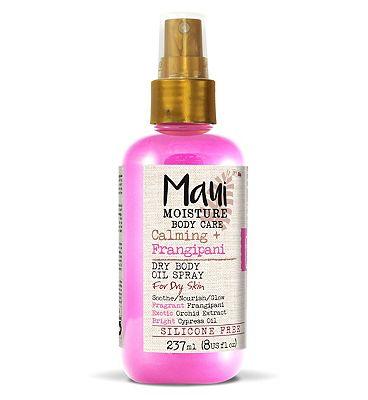 Maui Moisture Calming+ Frangipani Dry Body Oil Spray 237ml