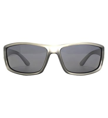 Freedom Polarised Sunglasses - Matte Clear Crystal Frame