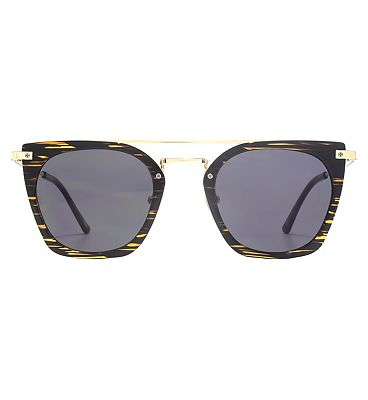 Nine West Sunglasses Flat Top Metal Plastic Combo Ladies