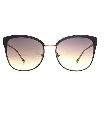 Nine West Sunglasses Cat-Eye Flat Metal Stainless Steel Ladies