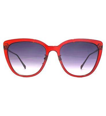 Nine West Sunglasses Oversized Cat-Eye Ladies