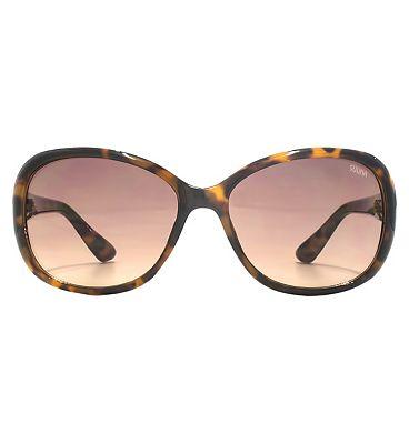 Suuna Women Sunglasses Classic Oval On Brown Tortoiseshell Frame