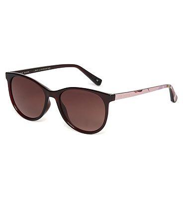 Ted Baker Womens Lyric Sunglasses Burgundy