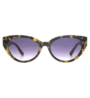 Whistles Sunglasses Slim Cat-Eye Acetate