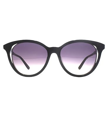 Whistles Sunglasses Cat-Eye Acetate With Clear Lamination Detail