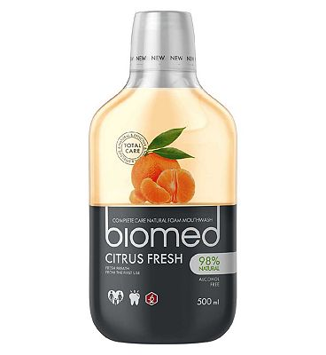 Biomed Citrus Fresh Mouthwash 500ml