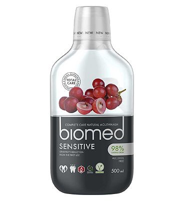 Biomed Sensitive Mouthwash 500ml