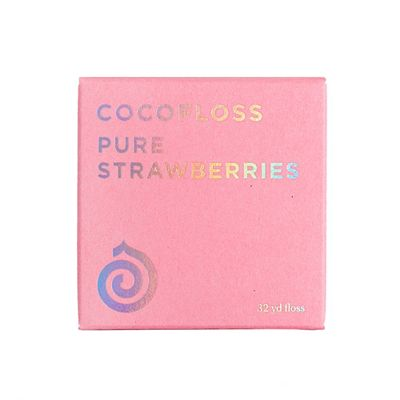 Cocofloss Pure Strawberries Dental Floss