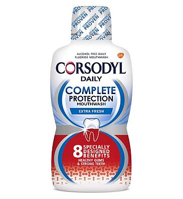 Corsodyl Daily Arctic Mint Complete Protection Mouthwash 500ml