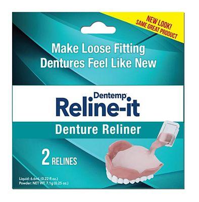 Dentemp Reline-It Dental Reliner