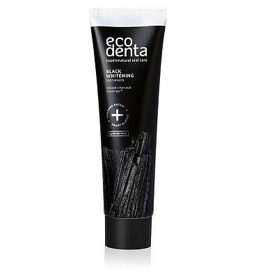 Ecodenta Black Whitening Toothpaste 100ml