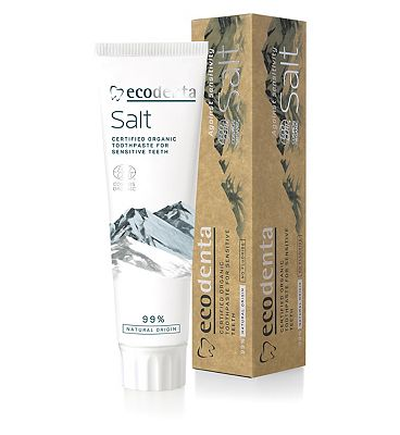 Ecodenta Cosmos Organic Salt Toothpaste for Sensitive Teeth 100ml