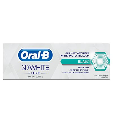 Oral B 3DWhite Luxe Blast 75ml