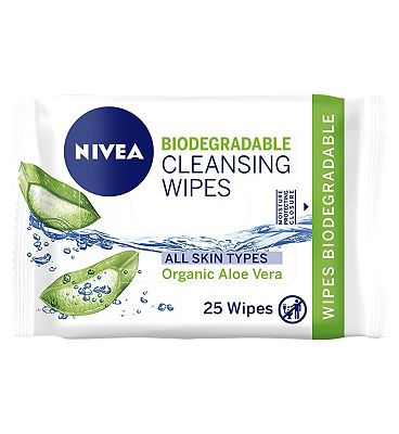 Nivea Biodegradable Cleansing Wipes