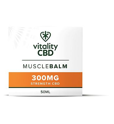 Vitality CBD 50ML Muscle Balm 300MG Strength CBD
