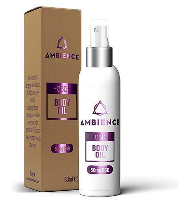 Ambience CBD Body Oil 50mg CBD - 50ml