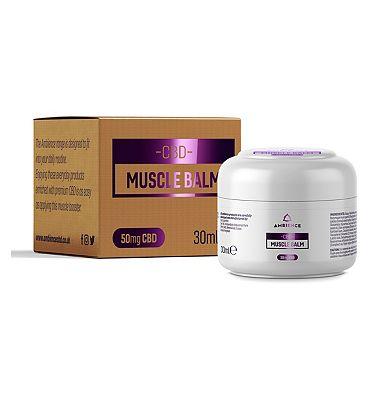 Ambience CBD Muscle Balm 50mg 30ml