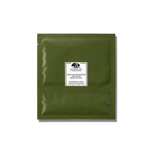Origins Dr Weil Mega-Mushroom™ Relief & Resilience Soothing Sheet Mask pack of 6